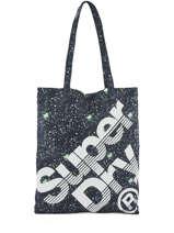 Sac Shopping Women Bags Superdry Bleu women bags 91005OQ