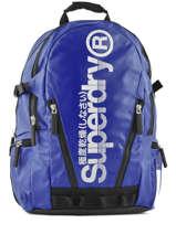 Sac à Dos 2 Compartiments Superdry Bleu backpack men M91011DQ