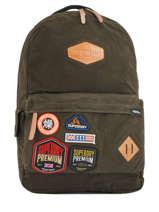 Sac à Dos 1 Compartiment Superdry Vert backpack men M91000OQ