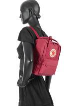 Backpack Kånken 1 Compartment Fjallraven Pink kanken 23561-vue-porte