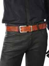 Ceinture Redskins Noir belt FARGO-vue-porte