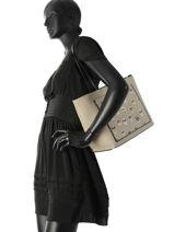 Shoulder Bag Yoni Alter Leather Karl lagerfeld Black yoni alter 82KW3007-vue-porte