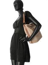 Shoulder Bag Agnes Miniprix Brown agnes 88401-vue-porte