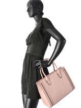 Top Handle Chaine Miniprix Pink chaine H6506-vue-porte