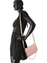 Shoulder Bag Chaine Miniprix Pink chaine H6394-vue-porte