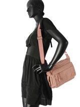 Crossbody Bag Casual Miniprix Pink casual 677X-vue-porte