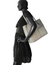 Shoulder Bag Gabrielle Miniprix Gray gabrielle MD1051-vue-porte