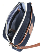Messenger Bag 1 Compartment Texier Blue aristide 42100-vue-porte