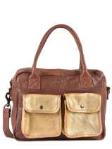 Shopper Vintage Leather Paul marius Brown vintage DANDY
