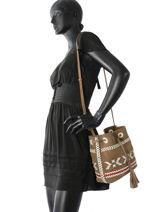 Bucket Bag Arty Leather Gerard darel arty DGS62445-vue-porte