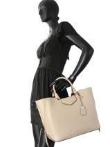 Shopping Bag Blakely Leather Michael kors Beige blakely S8GZLT3L-vue-porte