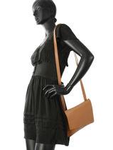 Shoulder Bag N City Leather Nathan baume Brown n city N1811117-vue-porte