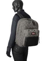 Backpack 2 Compartments Eastpak Gray pbg authentic PBGK060-vue-porte