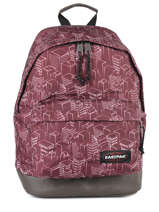 Sac à Dos Wyoming Eastpak Rouge pbg authentic PBGK811