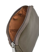 Purse Zippered Leather Katana Gray daisy 553066-vue-porte