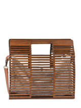 Handbag Bambou Miniprix Brown bambou 591