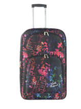 Suitcase 2 Wheels Travel Little marcel Multicolor travel MANDYM Case 2 wheel