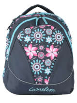 Backpack 2 Compartments Cameleon Pink new basic NBA-BOR