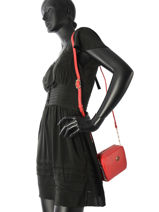 Sac Bandoulière Th Buckle Tommy hilfiger Rouge th buckle AW05551-vue-porte