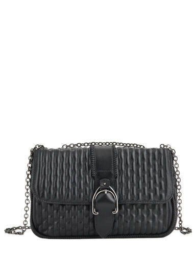 Longchamp Amazone matelassÉ Hobo bag Black
