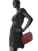 Longchamp Amazone matelassÉ Hobo bag Red-vue-porte