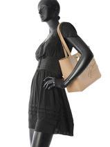 Longchamp Shop-it Besaces Beige-vue-porte