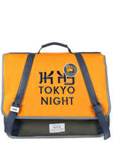 Satchel 2 Compartments Ikks Yellow backpacker in tokyo 18-41836
