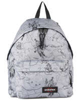 Backpack 1 Compartment A4 Eastpak Gray 620