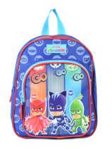 Mini Backpack Pjmasks Blue go go go 610-8923