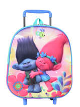 Wheeled Backpack Trolls Multicolor poppy 16129PYF