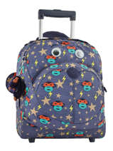 Sac à Roulettes Kipling Bleu back to school 157