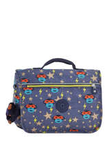 Satchel 1 Compartment Kipling Blue back to school 13571