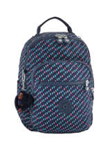 Backpack 1 Compartment Kipling Blue back to school 18674