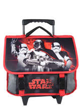 Wheeled Schoolbag Star wars Black 3d SWEI18