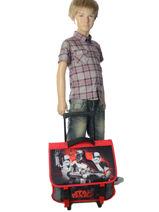 Wheeled Schoolbag Star wars Black 3d SWEI18-vue-porte