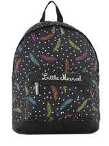 Backpack 1 Compartment Little marcel Multicolor baia BA08