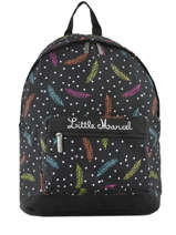Sac à Dos 1 Compartiment Little marcel Multicolore baia BA08