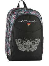 Backpack 2 Compartments Little marcel Black baia BA03