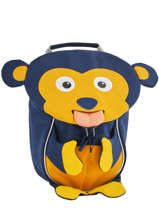 Backpack Affenzahn Black small friends AFZ-FAS2