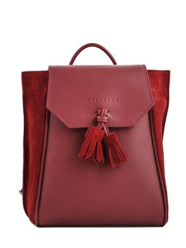 Longchamp PÉnÉlope soft Backpack Red