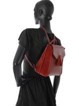 Longchamp PÉnÉlope soft Backpack Red-vue-porte