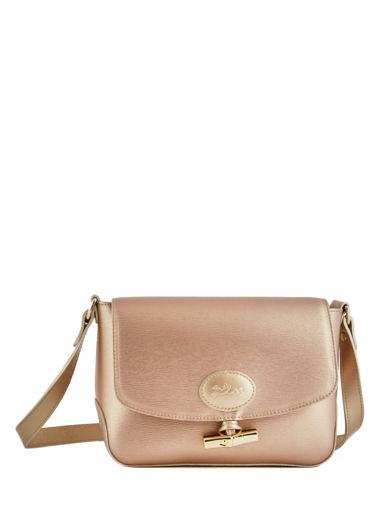Longchamp Roseau mÉtal Messenger bag Gold