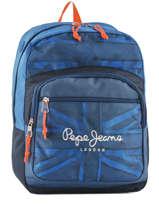 Sac à Dos 1 Compartiment Pepe jeans Noir fabio 60923