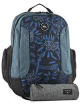 Backpack With Free Pencil Case Quiksilver Black youth access QYBP3498