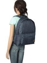 Backpack 1 Compartment Roxy Black back to school RJBP3730-vue-porte