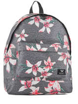 Backpack 1 Compartment Roxy Gray back to school RJBP3732