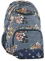 Sac A Dos Avec Trousse Offerte Roxy Black back to school RJBP3736