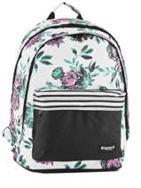 Backpack 2 Compartments Rip curl White desert flower LBPHH1