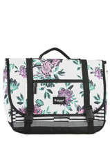 Cartable 2 Compartiments Rip curl Blanc desert flower LBPHF1