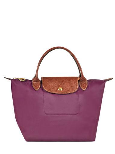 Longchamp Sacs porté main Rose